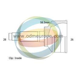 Шрус наружный CITROEN C5 III 2008- АВТОМАТ (28/58.5мм/26)